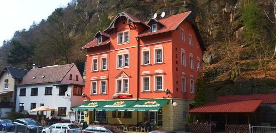 Pension Lugano in Hrensko - Bohemian Switzerland