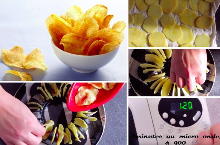 La recette inratable des chips au micro-ondes - La Recette