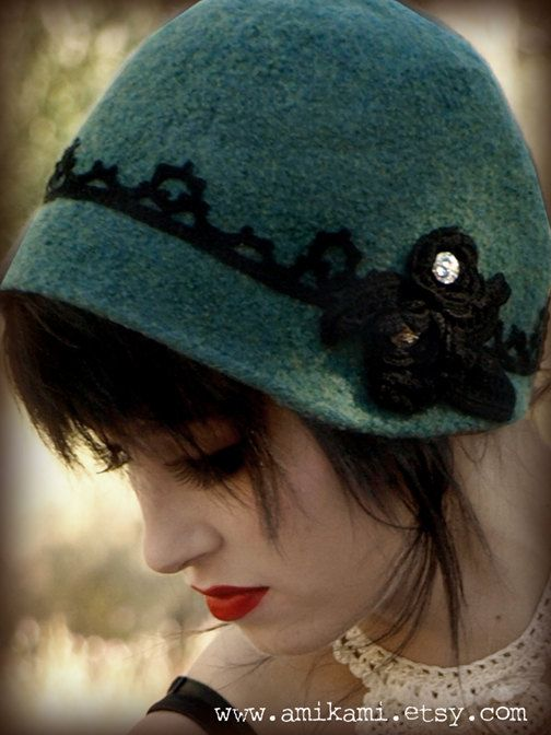 Every woman needs a cloche hat for a bit of mystery and melodrama.