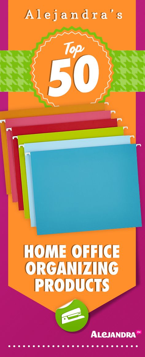 Top 50 Home Office Organizing Products from https://www.alejandra.tv/shop/best-home-organizational-products/?producttype=office?utm_source=Pinterest&utm_medium=Pin&utm_content=OfficeProducts&utm_campaign=TopProducts/#office