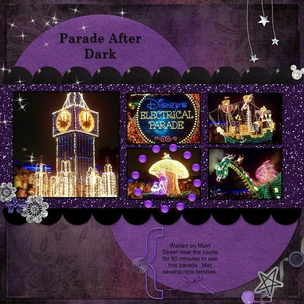Main Street / Disney's Electrical Parade - Page 2 - MouseScrappers.com