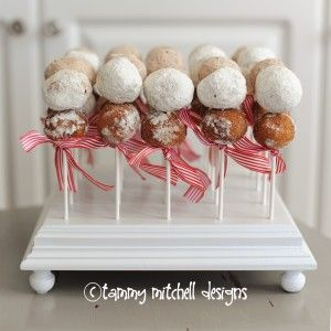 Breakfast idea...donuts on a stick