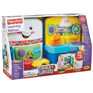 Fisher-Price Laugh  and  Learn: Learning Kitchen: Fisher Price Toys, Kitchens, Doser Gifts, Baby Toys, Learning Kitchen, Christmas Gifts