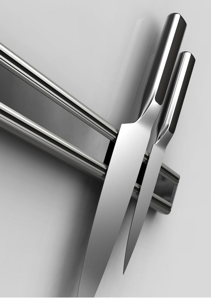 Magnetic knife rack-Bisbell
