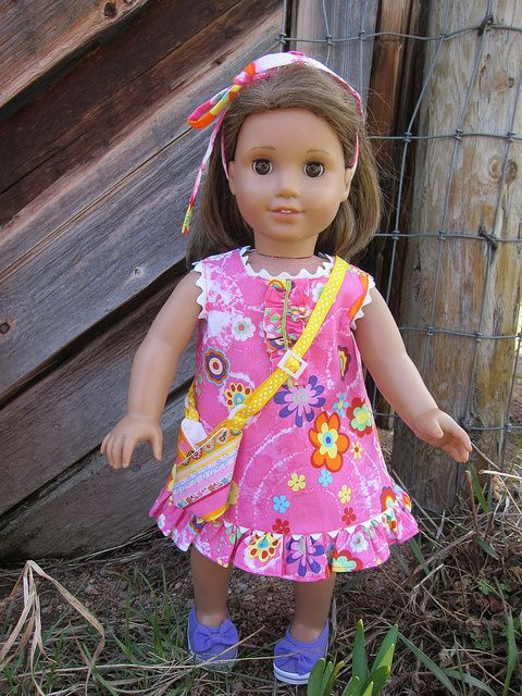 "Free 18"" doll clothes patterns This site is well worth a visit"