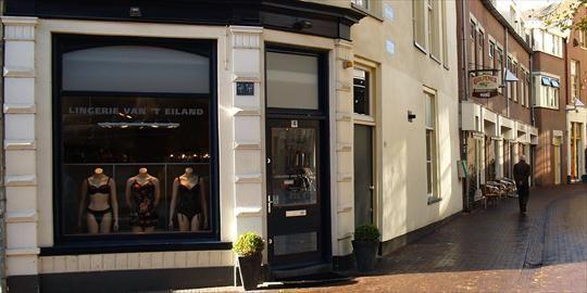 Winkelen/shoppen Rond het Eiland Arnhem