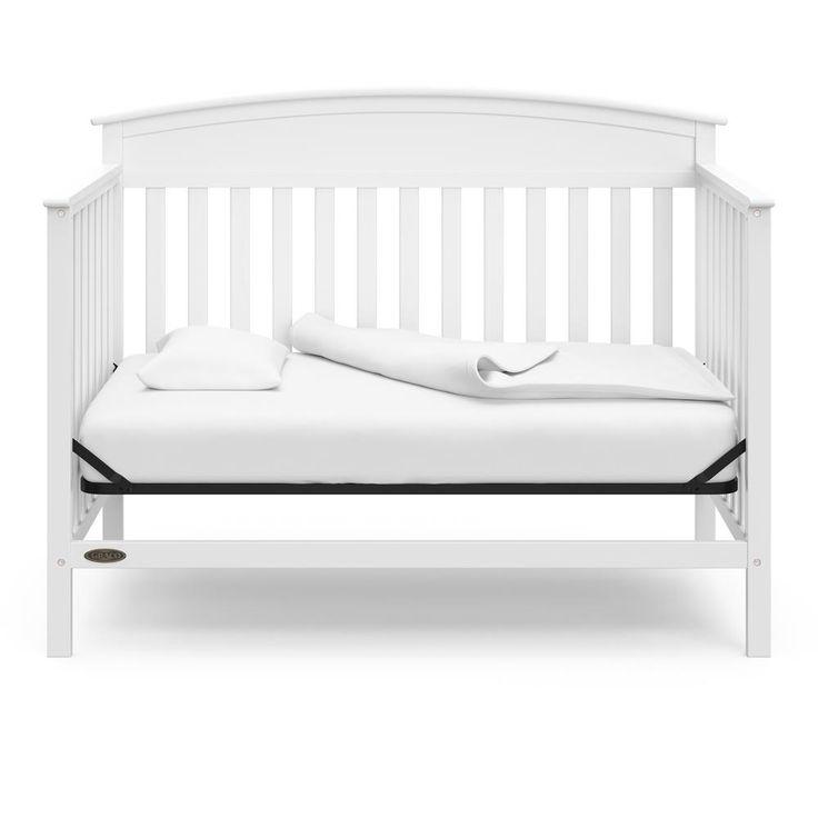 Graco Benton White 4 in-1-Convertible Crib 04530-211 - The ...