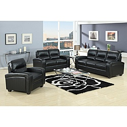 @Overstock   The Duncan Sofa Set Is A Sturdy, Handsome Two Piece Living  Room Furniture Set Made With A Wooden Frame And Comfortable Foam ... Part 83