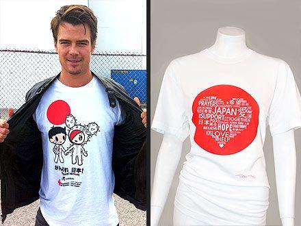 Celebrity T-shirts for JapanCelebrities Tshirt, Celebrities T Shirts
