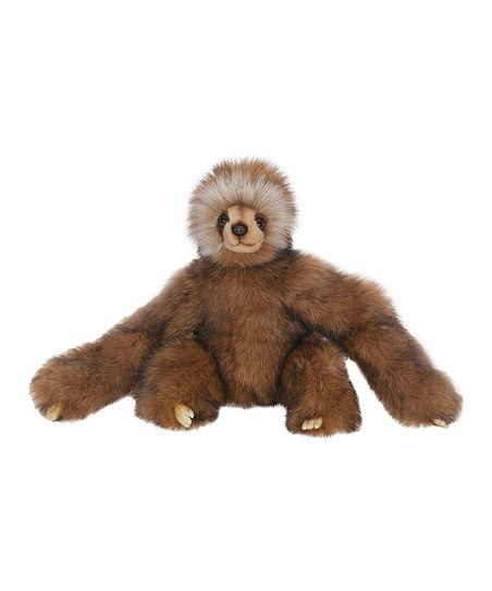 Young Three-Toed Sloth Plush Toy