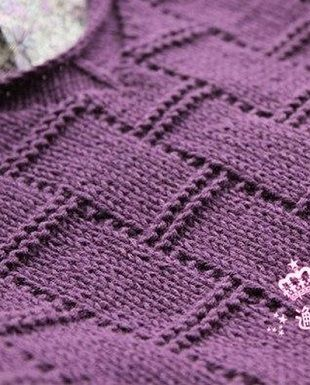 Basket Weave Knitting Pattern-appears to be in Russian but website has a nice diagram.