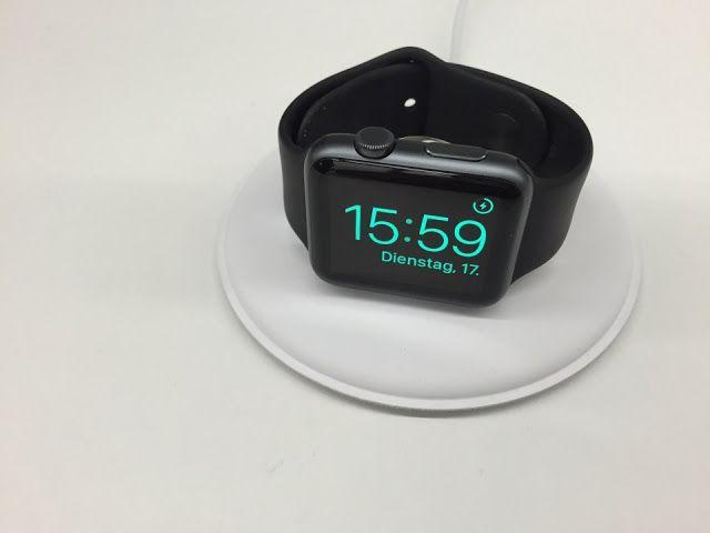 Έφτασε η επίσημη βάση φόρτισης του Apple Watch