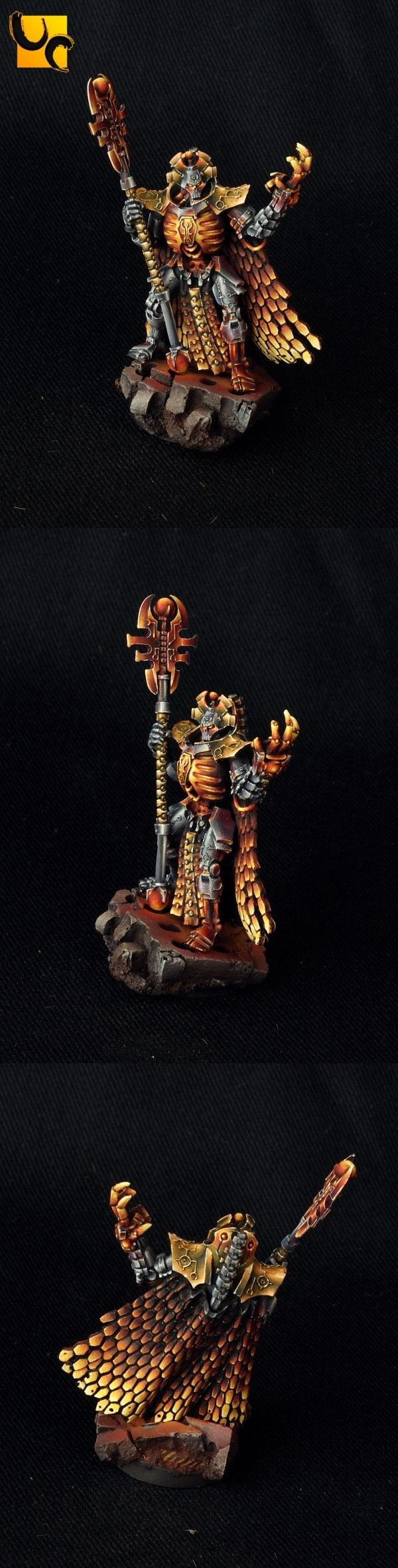 40k - Imotekh the Stormlord by UnlimitedColours