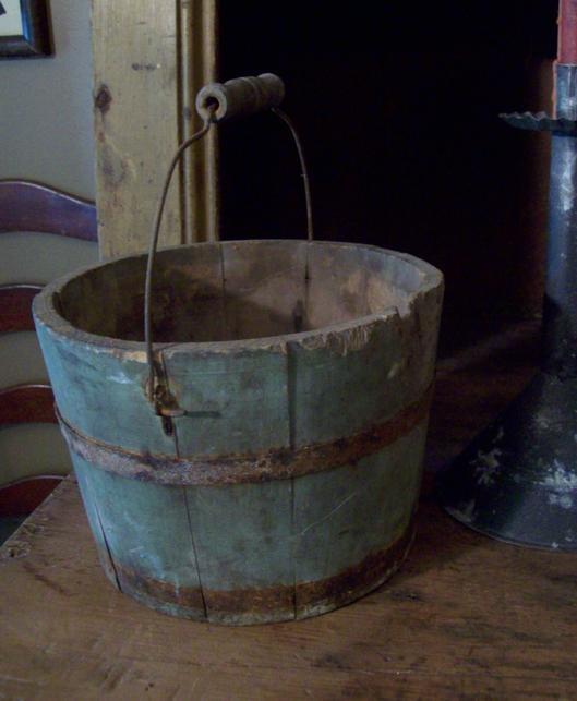 perfect blue bucket...