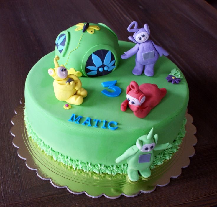67 Best Images About Teletubbies Cakes & Treats! On
