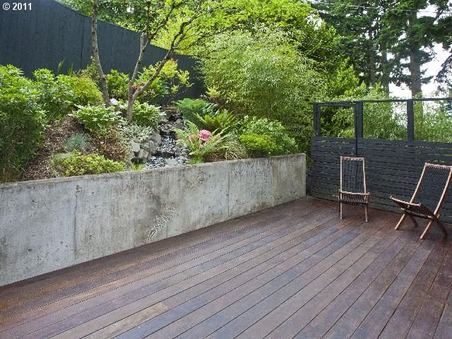 portland terraced front retaining wall - Google Search