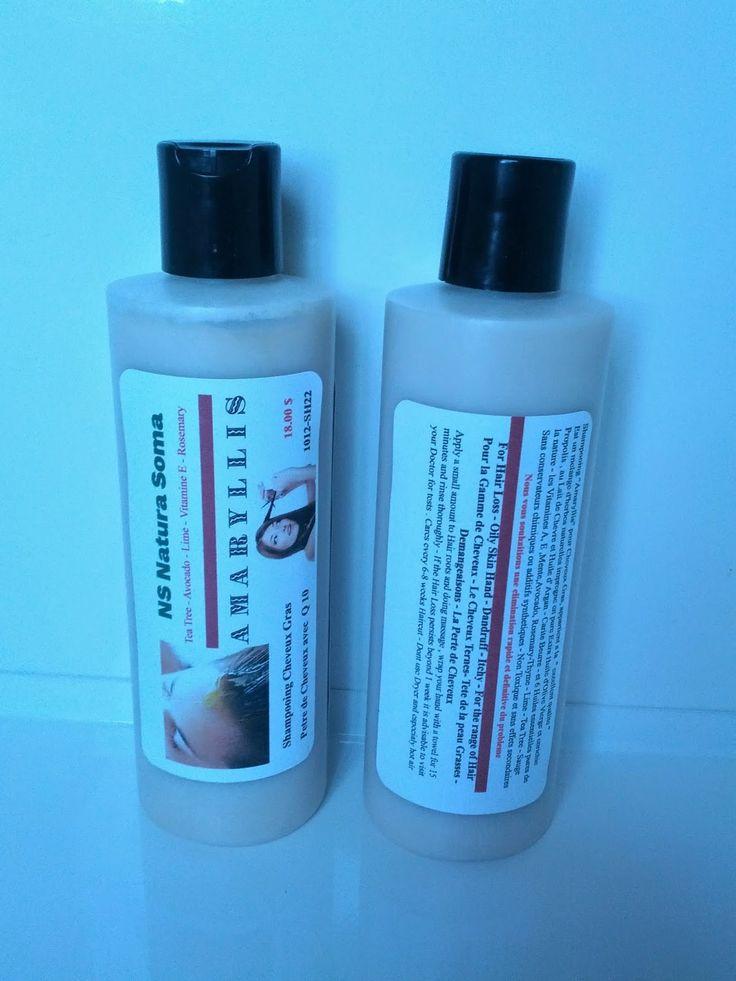 Natura soma: Shampoo Amaryllis for Oily Hair
