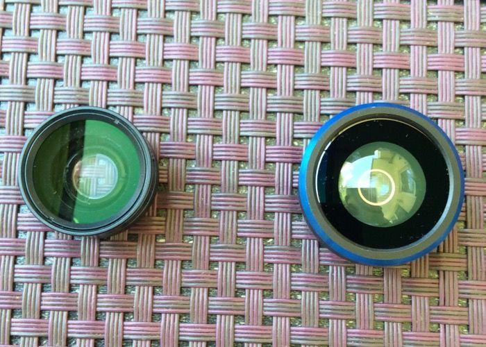 Aperlite - 3 in 1 198 Grad Fischauge Fisheye Objektiv Universal-Clip