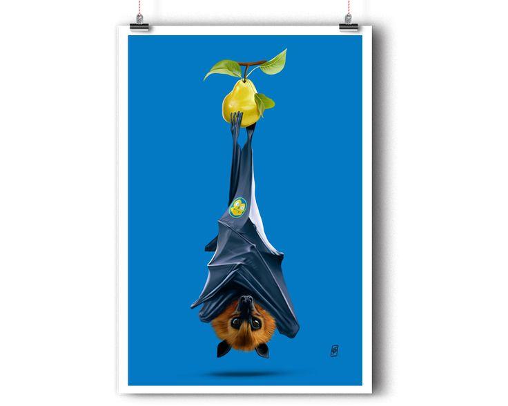Peared (Colour) | Shop art | decor | wall art | inspiration | caricature | home decor | idea | humor | gifts