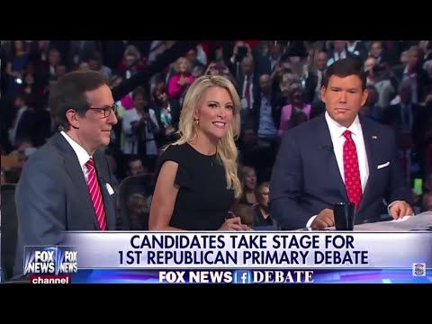 FULL GOP 2016 Presidential Debate Top 10 Republican Candidates - FOX News - YouTube