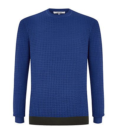 #Carven Seersucker Sweater