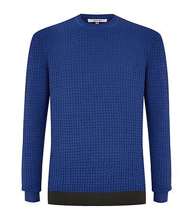 #Carven Seersucker Sweater