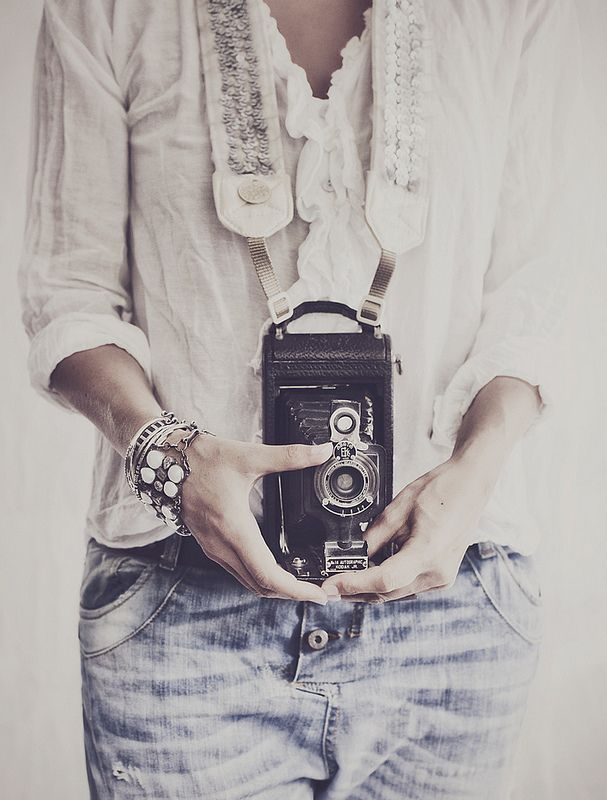 Swedish Photographer Hannah Lemholt The picture is beautiful. I am so in love with the camera strap.