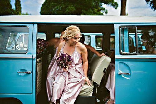 Jessica and Sean's Kombi Wedding #kombilove