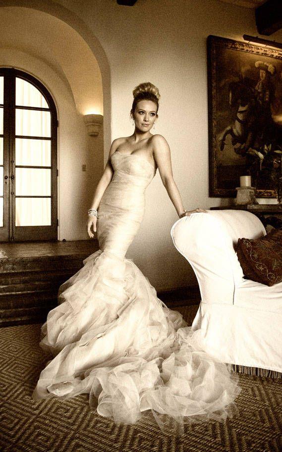hilary duff wedding dress: Vera Wang, Wedding Dressses, Weddingdress, Wedding Dresses, Wedding Ideas, Weddings, Hilaryduff, Hilary Duff, Dream Wedding