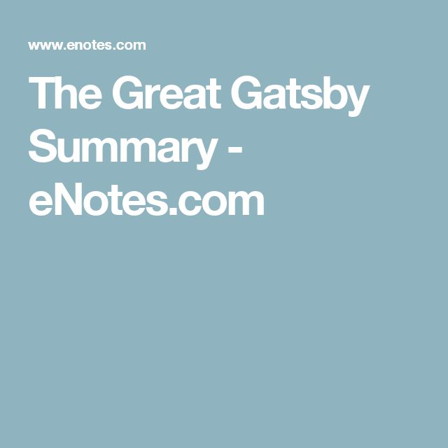 thesis statement for nick in the great gatsby Though the great gatsby runs to fewer than two hundred pages, there is no bigger read in american literature introduction to the book f scott fitzgerald's 1925 novel the.