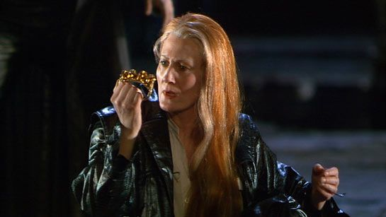 "Der Ring des Nibelungen, the Nibelung's Ring. Morse has a thing for Wagner's ring cycle even declaring in the Daughters of Cain Episode that ""it should be rated as one of the seven great wonders of the modern world.""  Here's Brunnhilde (Anne Evans)"