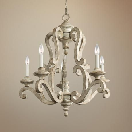 pendant chandeliers chandelier polished garden home lighting product light kichler collection nickel titus