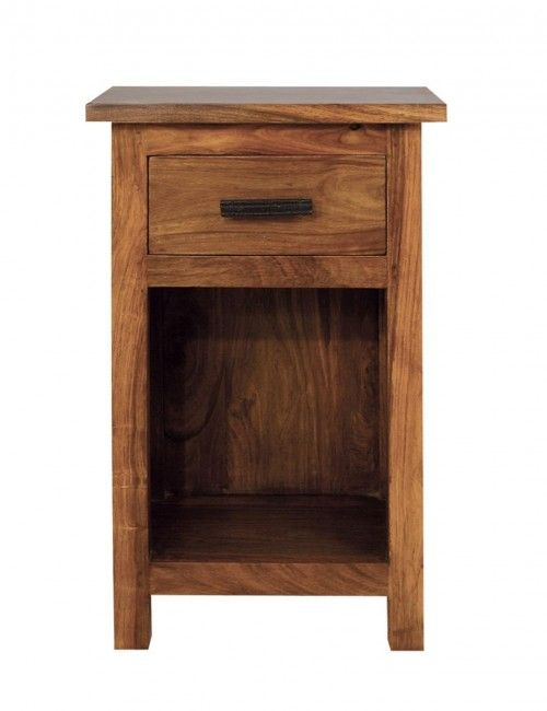 Tall thin bedside table
