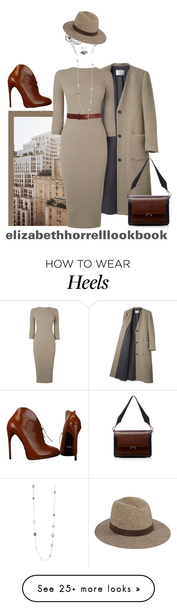 """LIZ"" by elizabethhorrell on Polyvore featuring La Garçonne Moderne, Louis Vuitton, Warehouse, Gucci, Marni, Barneys New York, Kenneth Cole, women's clothing, women's fashion and women"
