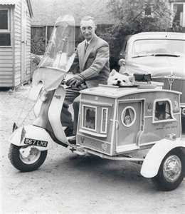 Are you in the dog House?: MOTORCYCLE 74: Vintage sidecar doghouse