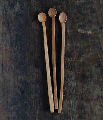 wooden muddler spoon * hiroyuki watanabe
