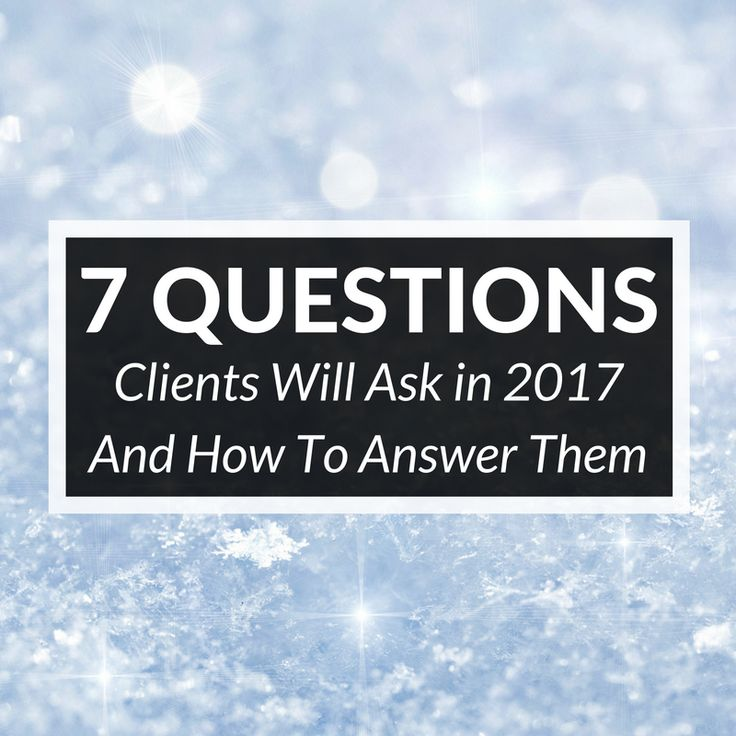 Buyers and sellers are more informed than ever before and that means you need to get prepared to answer all of their real estate questions in 2017!