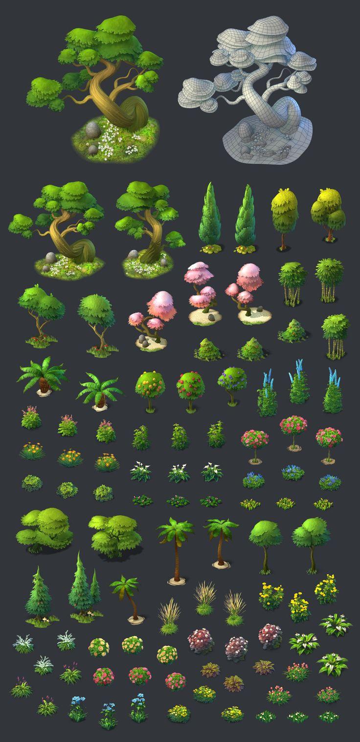 ArtStation - Gardenscapes: New Acres - Artdump, Ilya Shigin