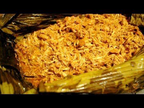 Como hacer Cochinita Pibil / Mayan Style Pit Pork Cochinita Pibil recipe