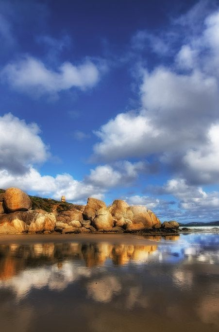 'A Shiny Beach', Australia, Wilson Promontory, Whiskey Bay.
