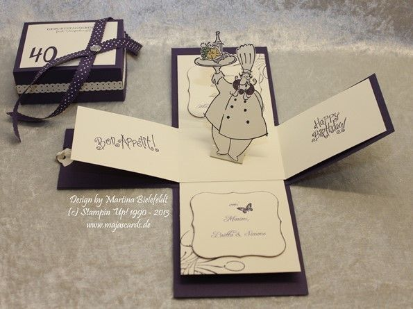 Magic Box zum Geburtstag/Hochzeit/Gutschein Essen