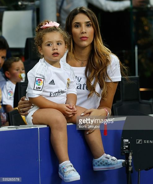 News Photo : Daniela Ospina, wife of James Rodriguez of Real...