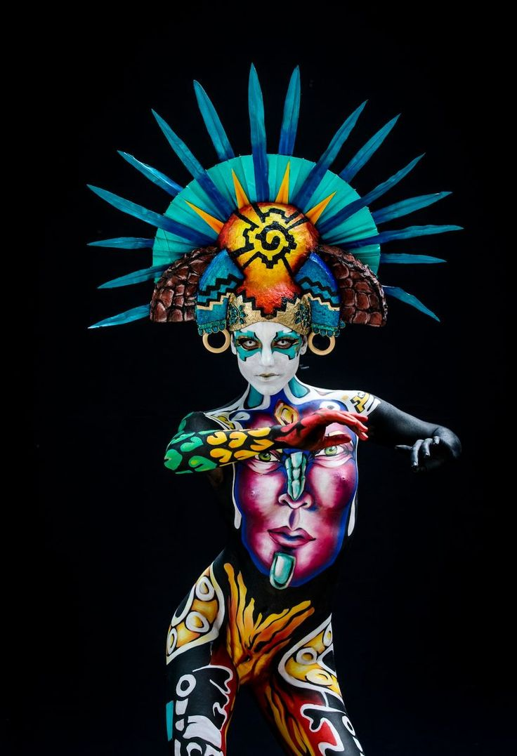 Best Cuerpo Images On Pinterest Body Paintings Awesome Art - Artist turns humans amazing animal portraits using body paint