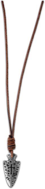 Guy's Necklace - Arrowhead