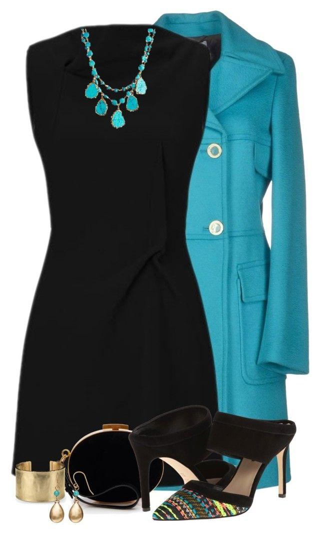 """""""Bright Coat for Fall"""" by derniers ❤ liked on Polyvore featuring Versace, Roland Mouret, Nina Ricci, Via Spiga, Rachel Reinhardt, Blue Nile, Chaps, women's clothing, women and female"""