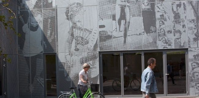 Перфорированные фасадные панели | ik-architects.com