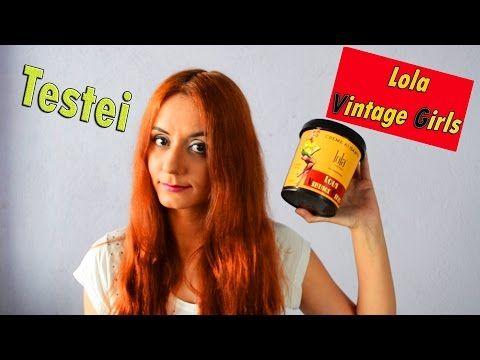 Testei - Creme Alisante Vintage Girls da Lola Cosmetics - YouTube