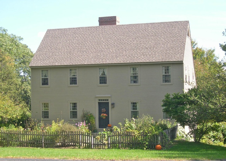 Exterior: 186 Best COLONIAL NEW ENGLAND HOUSES Images On Pinterest