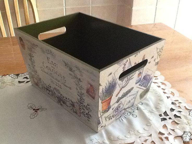Caja para baño