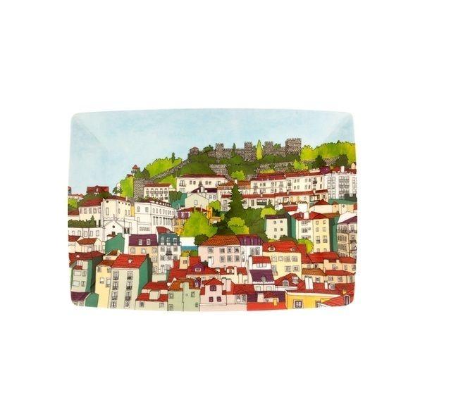 Prato retangular Alma de Lisboa | Vista Alegre - Bergerson Presentes